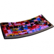 Mosaic Incense Plate - Purple Haze