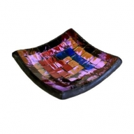 Mosaic Soap Dish - Purple Haze
