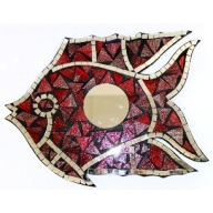 Fish Mirror - Red