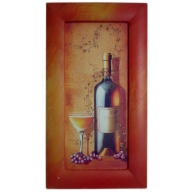 White Wine - Medium 45cm x 25cm