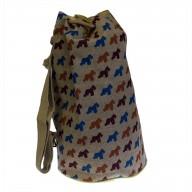 Jute Duffle Bag - Scotty Dog
