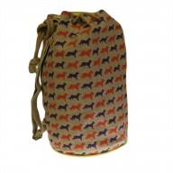 Jute Duffle Bag - Fox