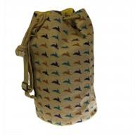 Jute Duffle Bag - Hare