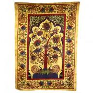Tree of Life - Brown Bedspread / Wall Art