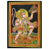 Indian Wall Art Print - Hanuman