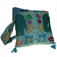 Ethnic Bag - Elephant Patch - Green