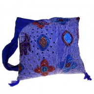 Ethnic Bag - Elephant Patch - Indigo