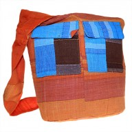 Ethnic Bag - Multi Patch - Natural Oranges