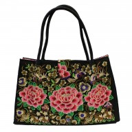 Jolly Big Fashion Bags - Three Lotus Flowers