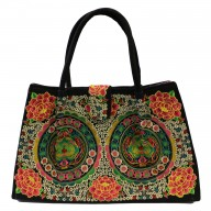 Jolly Big Fashion Bags - Green Lotus Wheels