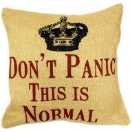 Cushion Cover Don't Panic
