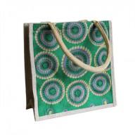 Sml Shopping Bag Green Alpana