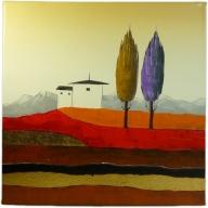 Tuscan Scene - 30cm x 30cm