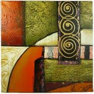 Abstract Swirls - 30cm x 30cm