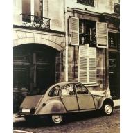 Paris CV2 - 35cm x 28cm - 24mm Thick wooden Base