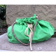 Jolly Big Corduroy Bags - Green