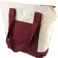 Natural & Pure - Shopping Bag - Wine