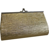 Med Gold Clutch Bag