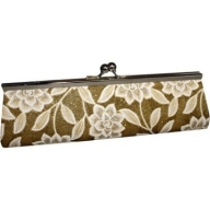 Long Gold Clutch Bag