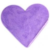 6x Heart Guest Soaps - Lavender