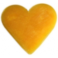 6x Heart Guest Soaps - Orange & Warm Ginger