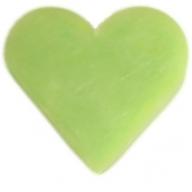 6x Heart Guest Soaps - Green Tea