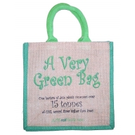 Jute Tantra Bag - A Very Green Bag