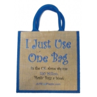 Jute Tantra Bag - I Just Use One Bag