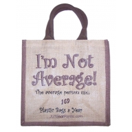 Jute Tantra Bag - I'm Not Average