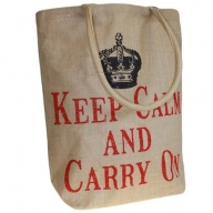 Jute Trend Bag - Keep Calm