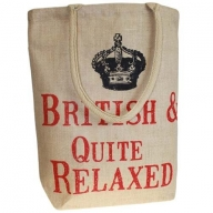 Jute Trend Bag - British & Quite Relaxed