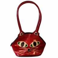 Pussy Cat Bag - red