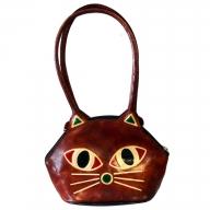 Pussy Cat Bag - brown
