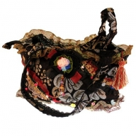 Shabby Chic Bag - Black