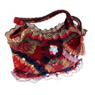 Shabby Chic Bag - Ruby