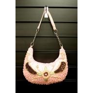 Retro Shimmy Bag - Pink
