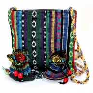 Tibetan Fringe Bag - Medium & 2 Pouch