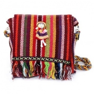 Tibetan Fringe Bag - Doll Decor