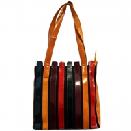 Within the Lines Bag - Rich Colours