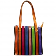 Within the Lines Bag - Pastel Colours