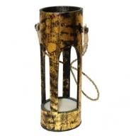 Bamboo Lantern - Gold