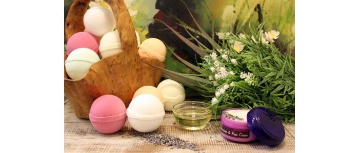 Aromatherapy Bath Bombs (120-140gr)