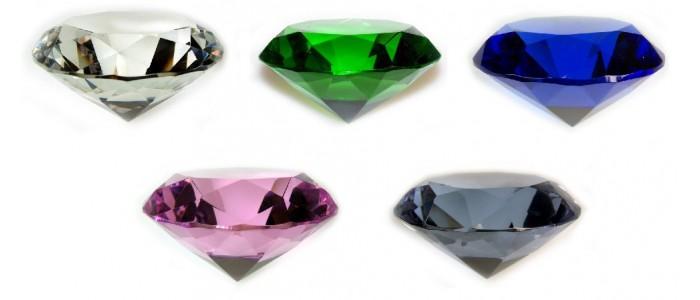 Diamond Shape Crystals