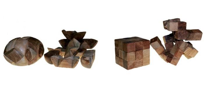 Wooden Mind Bender Puzzles