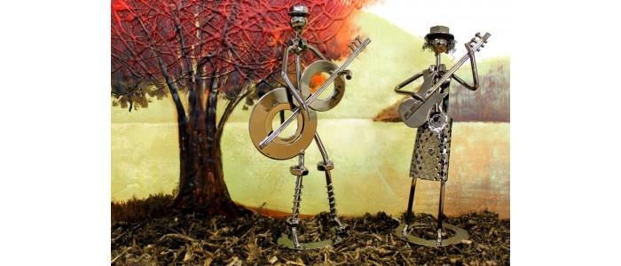 Heavy Metal Band Figures