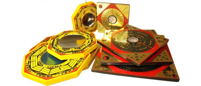 Feng Shui Compasses & Mirrors