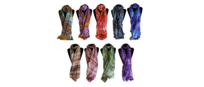 Classic Thai Silk Scarves