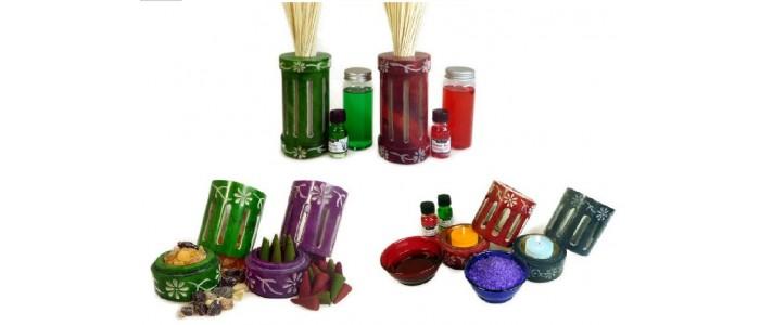 Coloured Soapstone Fragrance Range