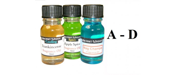 Fragrance Oils A-D
