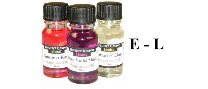Fragrance Oils E-L